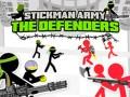Spel Stickman Army: The Defenders