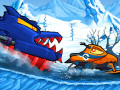 Spel Car Eats Car: Winter Adventure