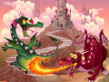 Spel Fairy Tale Dragons Memory