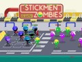 Spel Stickmen vs Zombies